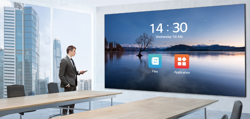 LG Expands All-in-One LED Display Category