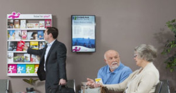 Digital posters expand in Canadian health-care wai