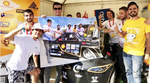 Vehicle wrap speeds up U.K. Eco-marathon