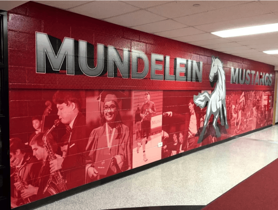 Featured Project: Jazzing Up a High School Hallway